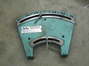 Foley 387 Automatic Saw Filer Part Base Pt 387003
