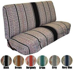 Full Size Truck Bench Seat Covers Fits Chevrolet Dodge And Ford Trucks