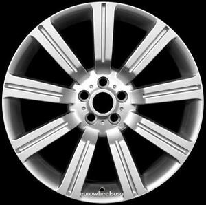 22 Stormer Rims For Range Land Rover Hse Lr3 Set Of Four 22x10 Hypersilver