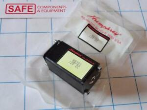 Humphrey Solenoid Valve Mini mizer Mb3e1 12vdc Single Electric 3 port 2 pos F54