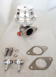 Tial 38mm External Wastegate 0 4 Bar Silver F38 polished Finish Wg
