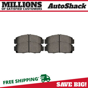 Front Performance Brake Pads For 1999 2008 Tl 2006 2009 Civic 2003 2010 Accord