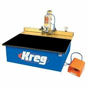 Kreg Dk1100tpr Benchtop Single spindle Pneumatic Pocket hole Machine recon