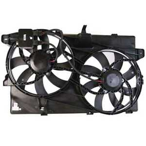 Radiator Fan Assembly W controller For Lincoln Mkx Ford Edge W lifetime Warranty