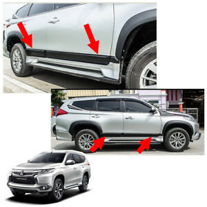 Body Cladding Side Molding Guard For Mitsubishi Pajero Montero Sport 2016 17