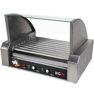 Rollerdog Big 24 Stainless Steel Hotdog Roller With Drip Tray