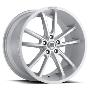 Ford Mustang Shelby Cs2 Silver 5 Lug Wheel 20x11 2005 19 Gt Ecoboost Rear