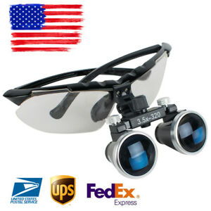 Dental 3 5x Medical Binocular Loupes 3 5x 320mm Magnifier Magnifying Glass Loupe