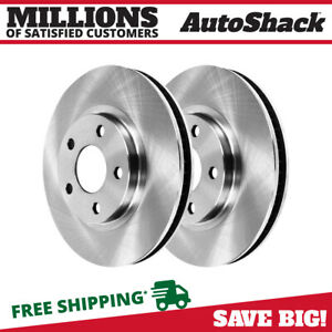 Front Brake Rotor Pair For 2005 2006 2007 2008 2009 2010 Ford Mustang