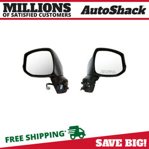 Power Side View Mirror Pair For 2012 2013 Honda Civic