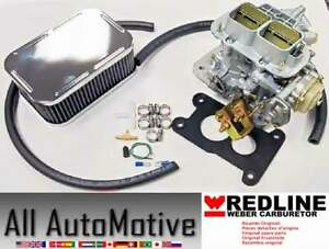Jeep Chevy Gmc 80 83 2 5 W Rochester Weber Carb Conversion Kit Redline Kit K491