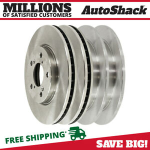 Front And Rear Brake Rotors For 2005 2006 2007 2008 2009 2010 Honda Odyssey