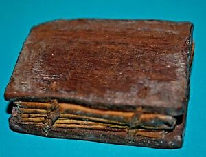 Antique Ethiopian Christian Miniature African Bible Manuscript W Handmade Vellum