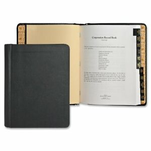 Wilson Jones Corporate Record And Minute Book 75 Pages 11 Index Tabs Letter