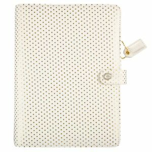 Webster s Pages A5 Gold Dot Personal Planner Binder A5001 gd
