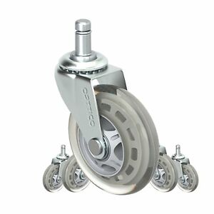 Office Chair Caster Wheels Replacement Set Of 5 Hardwood Floor Chair Wheels