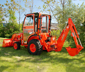 Complete Curtis Soft Sided Cab System Kubota B3200 Series Tractor