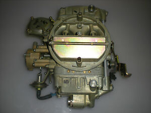 Nos Holley 4 Barrel Carburetor R 7397 1974 Pontiac 350 400 455 Engine