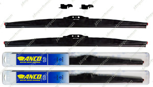 Anco Winter Wiper Blade 24 16 Set Of 2 Front 30 24 30 16