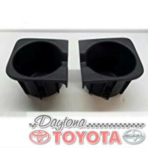 Oem Toyota Tacoma Front Console Cup Inserts Separate Seats Fits 2011 16