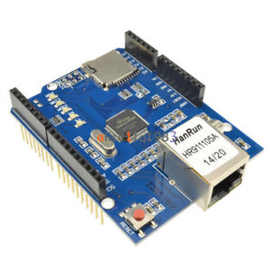 10pcs Ethernet Shield W5100 R3 Network Expansion Board For Arduino Uno Mega2560
