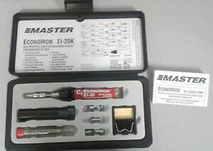 Master Econo Iron Multipurpose Cordless Soldering Iron Kit E1 20k