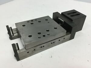 Gilman Linear Motion D81214 Precision Linear Stage Travel 25 25mm 2 57mm turn
