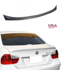 For Bmw Abs Trunk Spoiler E90 3 Series 05 13 316i 328i M3 335i Unpainted To Usa
