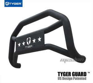 Tyger Bumper Guard Textured Black Fits 06 08 Dodge Ram 1500 excl 1500 Mega Cab