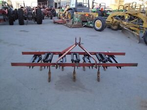 Very Nice Fred Cain 3 Point Hitch 7 Shank Tillage Tool