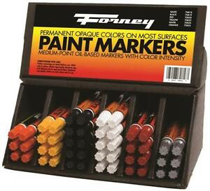 New Forney 70816 48 Piece Weld Marking Paint Marker Assortment Display 8911174