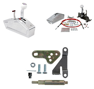 B M Pro Ratchet Automatic Shifter W Bracket Lever Kit For 62 73 Gm Powerglide