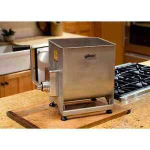 Weston 44 pound Stainless Steel Manual Meat Mixer