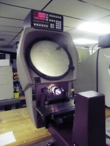 14 Scherr Tumico 20 3500 Bench Top Comparator With 10x Lens Qc2000 Dro Edge