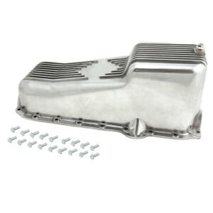 Oil Pan Kit For Small Block Chevy 80 85 Polished Aluminum Spectre 4988