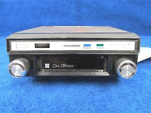Vintage 60 s 70 s Ford Chevy Dodge Panasonic Car Stereo 8 Track Player 1217