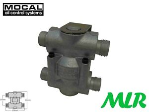 Mocal Ot 2d Oil Cooler Remote Thermostat 5 8bsp Bolt On Fittings Bcq