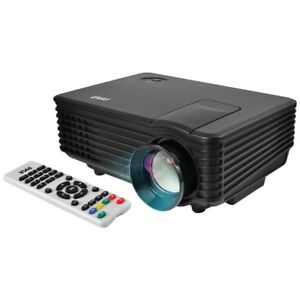 Pyle Video Projector Portable Home Theater Projector Video Gaming Usb hdmi