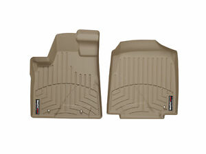 Weathertech Floorliner Floor Mats For Honda Pilot 2006 2008 1st Row Tan