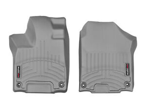 Weathertech Floor Mats Floorliner For Honda Pilot 2016 2019 1st Row Grey