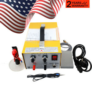 Pulse Sparkle Spot Welder Electric Jewelry Welding Machine usps Shipping