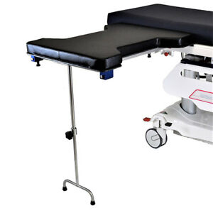 New Mcm 338 Underpaid Phenolic Hourglass Arm Hand Double Leg Surgery Table