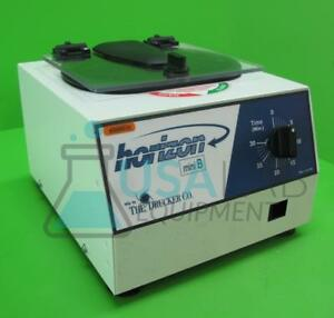 Drucker Horizon 642b Mini B Centrifuge With 6 well Swing Bucket Rotor 3