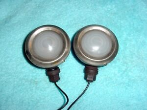 Vintage Antique Cowl Lights Pedal Car Headlights Dodge Brothers Buick Oldsmobile