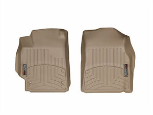 Weathertech Floorliner Floor Mat For Toyota Camry 2007 2011 1st Row Tan