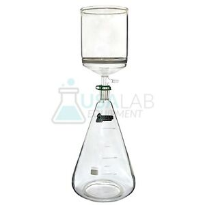 Usa Lab 5l Filter Flask 2l Buchner Funnel With 15 40 Micron Frit