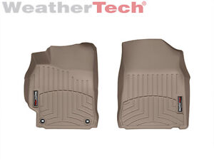 Weathertech Floorliner Floor Mats For Toyota Camry 2012 2014 5 1st Row tan