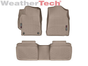Weathertech Floorliner Custom Floor Mats For Toyota Camry 2015 2017 Tan