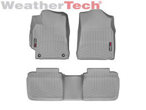 Weathertech Floorliner Custom Floor Mats For Toyota Camry 2015 2017 Grey