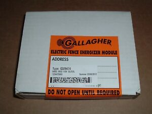 Gallagher Repair Energizer Module For M400 Electric Fencer Type G329474